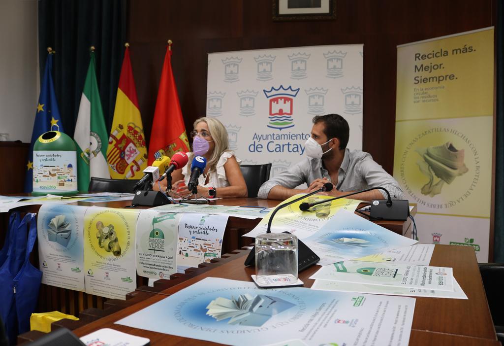 El Ayuntamiento de Cartaya pone en marcha numerosas actuaciones para promover el reciclaje en los tres núcleos