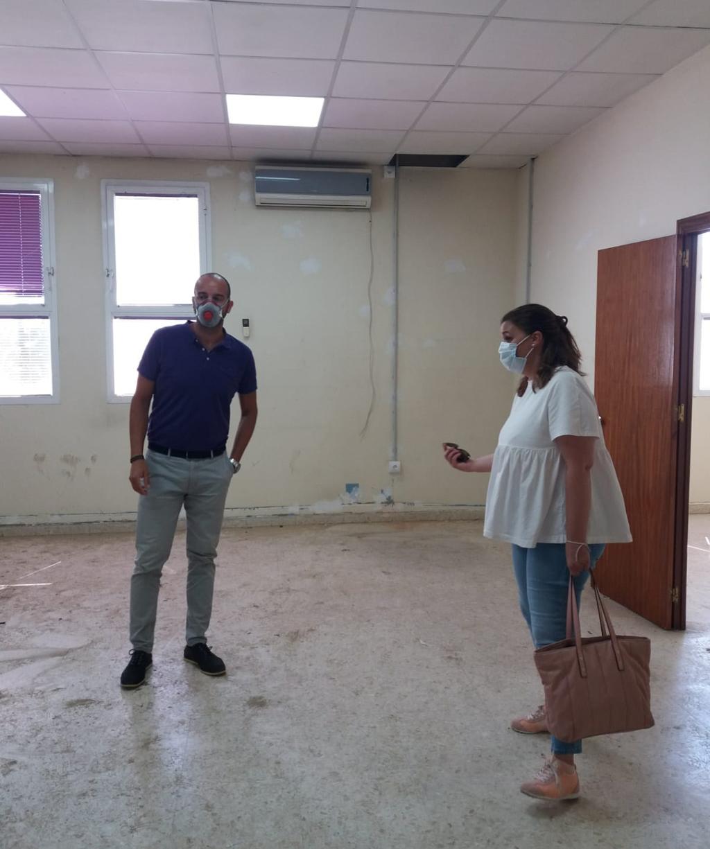 El Área de Desarrollo Local del Ayuntamiento de Cartaya pone en marcha las obras de acondicionamiento del edificio Escuela de Empresas para albergar la nueva Incubadora Municipal de Empresas.