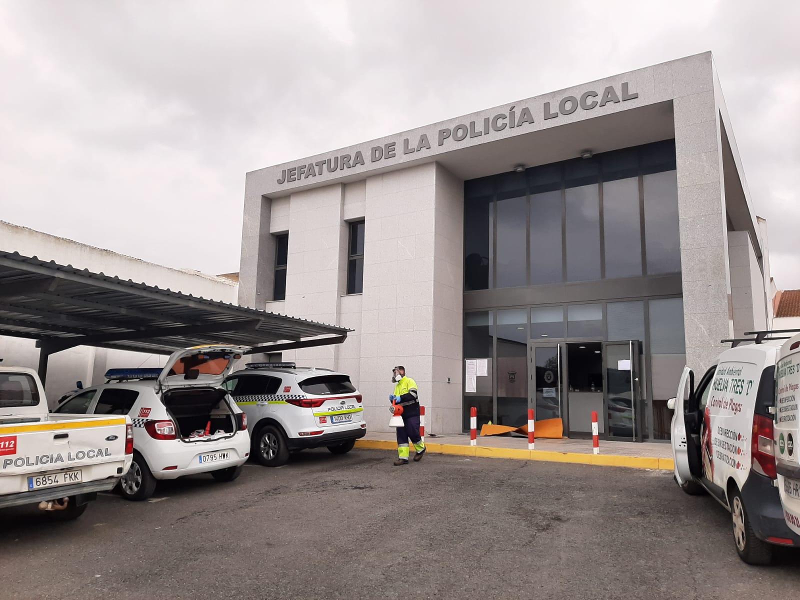 Jefatura de la Policía Local de Cartaya.