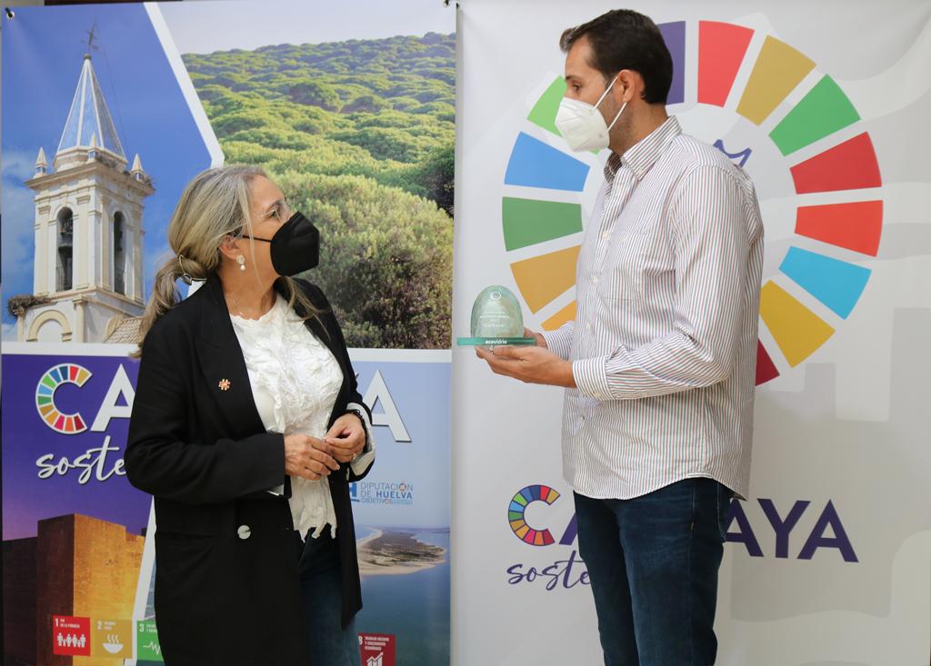 El Ayuntamiento de Cartaya, reconocido con el galardón Iglú Verde de Ecovidrio
