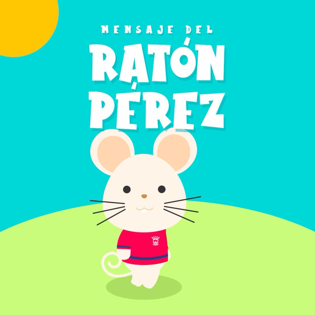 El Ayuntamiento de Cartaya difunde un mensaje del Ratoncito Pérez para todos los niños y niñas cartayeros/as.